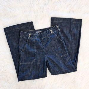 Hudson Workman Wide Leg Jeans